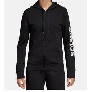 Women's Adidas full zip Hoodie